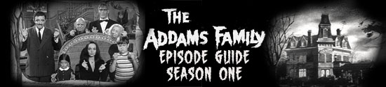 Addams Family Episodes Season One