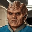 Lt. Commander Bortus played by Peter Macon
