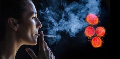 Raucher Coronavirus