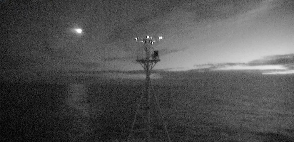 Tech :  La caméra du navire filme un météore spectaculaire – une boule de feu vert vif tombe  , avis
