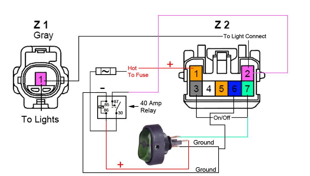 fog light wiring diagram fog image wiring diagram utv fog light wiring diagram utv wiring diagrams on fog light wiring diagram