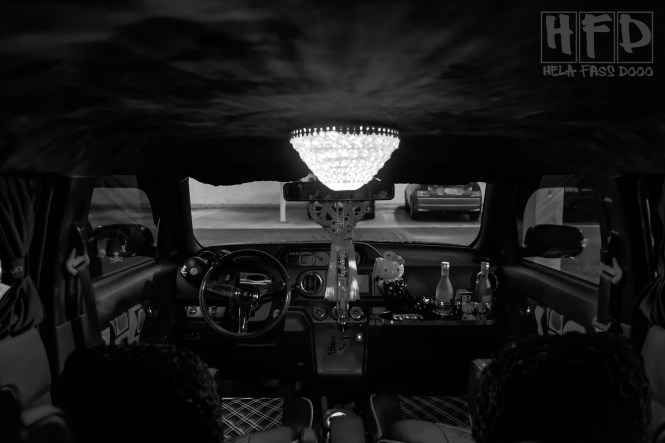 Few Things Say Ridiculously Baller Like A Chandelier In Your Car I Mean It S One Thing To Put On Some Nice Rims Or Drop Low But When You Ve Already