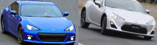 Image: Scion FR-S and Subaru BRZ