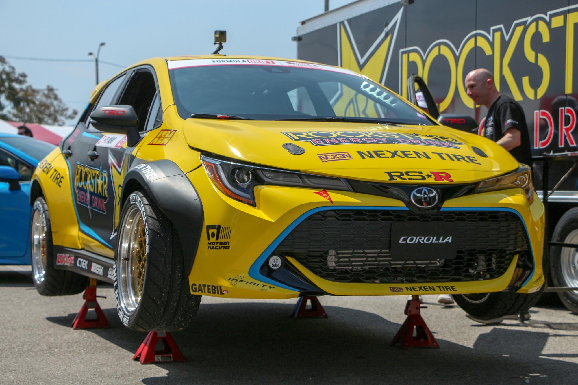 Scionlife.com Formula Drift Long Beach 2018 Toyota Racing 2018 2019 Toyota Corolla FD Fredric Aasbo