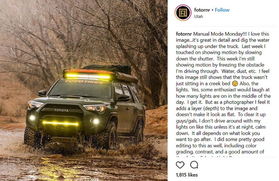 ScionLife.com Instagram Account of the Week #9: fotornr