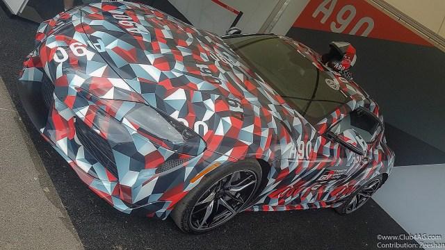ScionLife.com A90 Toyota Supra 2019 Goodwood Festival of Speed Moto Miwa Club4AG