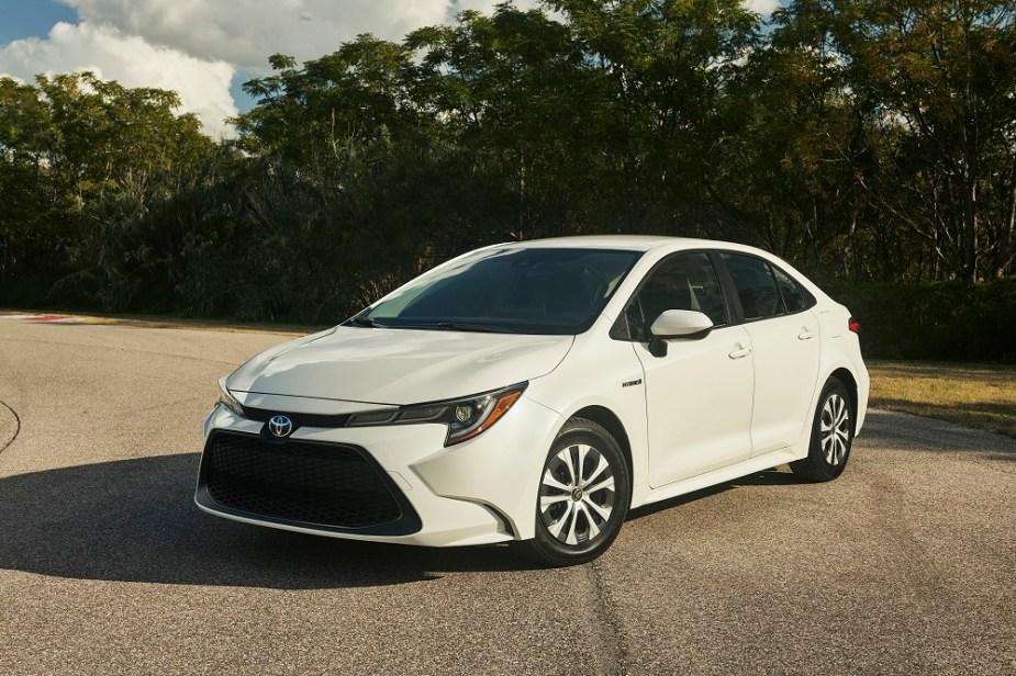2020 Corolla Hybrid Sedan News