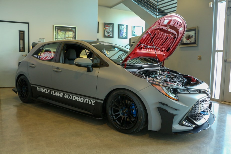 2019 2020 Toyota Corolla hatchback sedan SEMA Aftermarket Parts Development