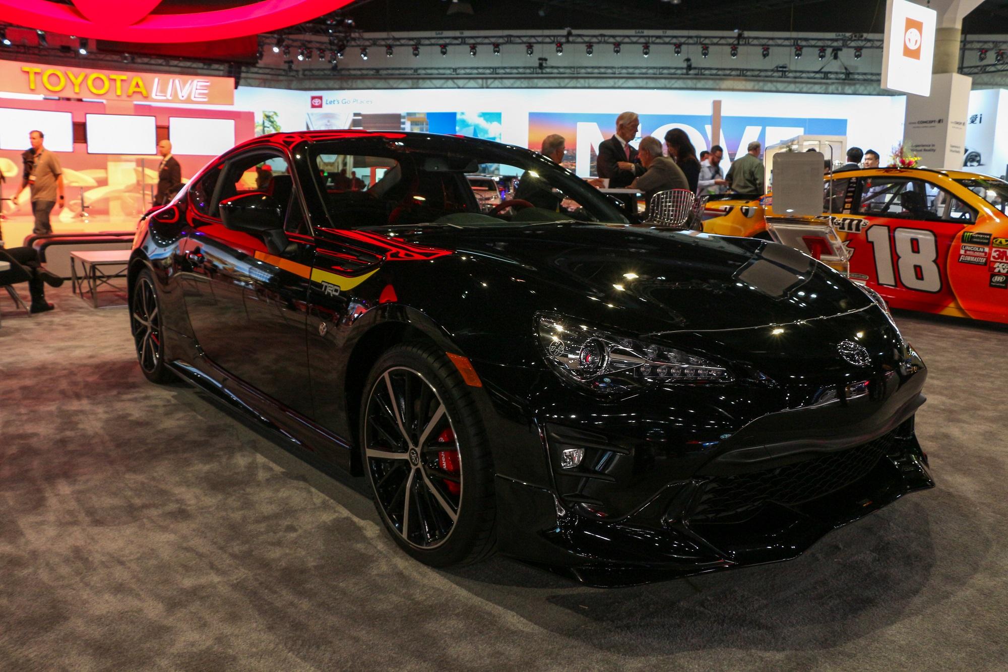 2019 Toyota 86 TRD Edition Los Angeles Auto Show