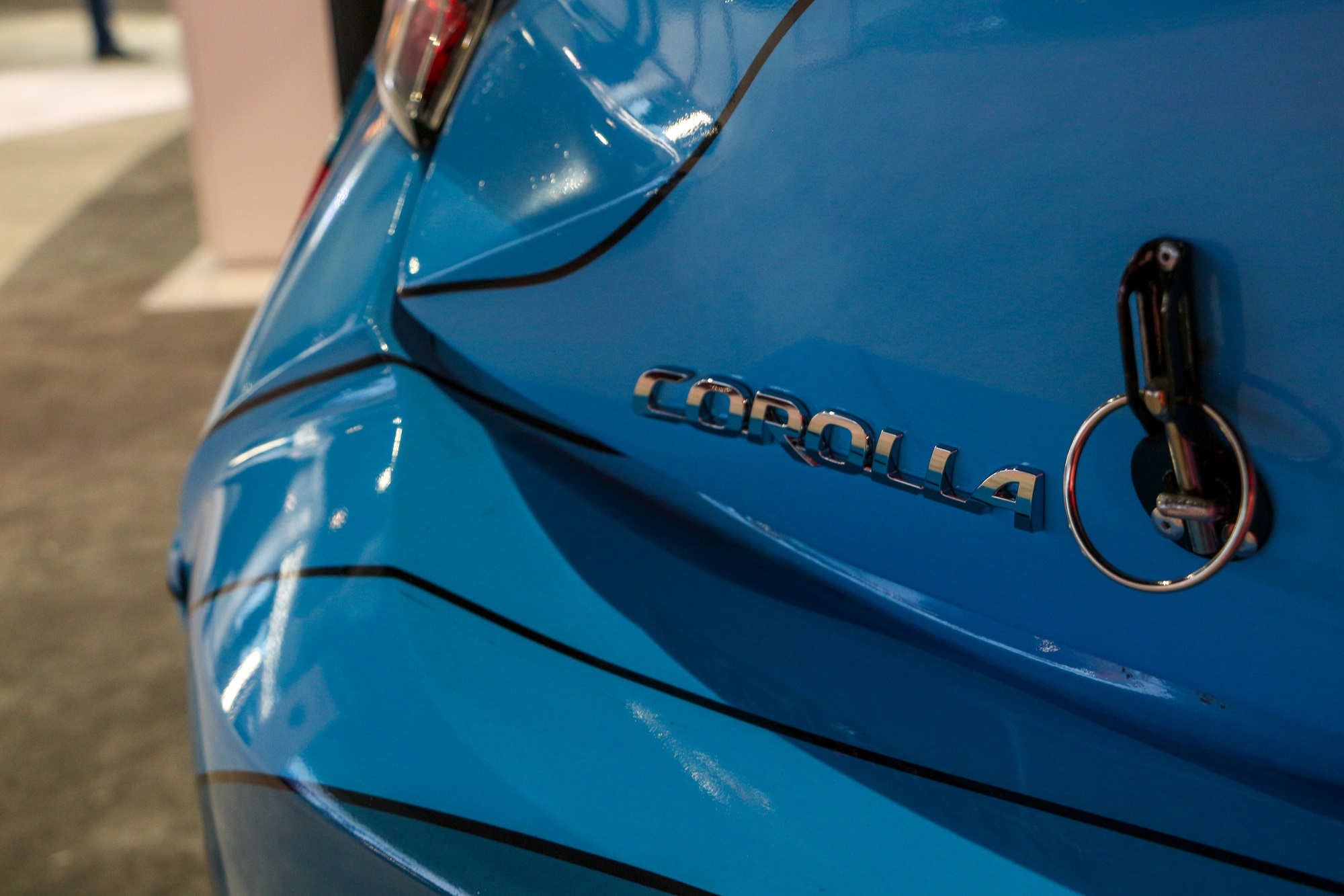 2019 Toyota Corolla Hatchback Fredric Aasbo Formula Drift Demo Car Los Angeles Auto Show