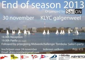 sailon end of season 2013