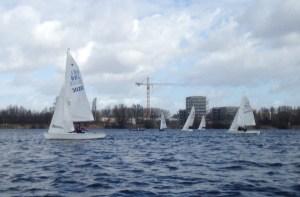 RYCB 1 maart op het water
