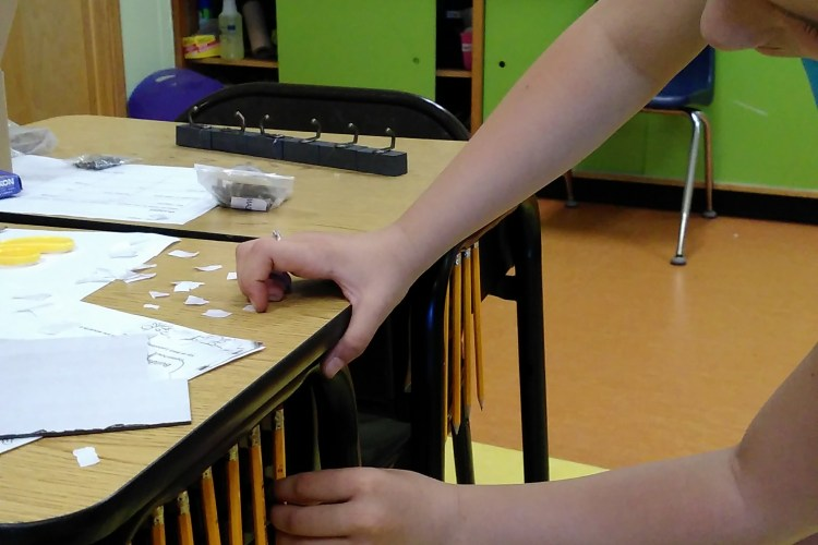 Challenge Grant Update – Learning about Magnetism at Richford Elementary School