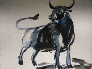 Bull by Madhushree