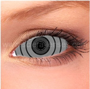 Buy Online Rinnegan Grey Contact Lenses Crazy Colored