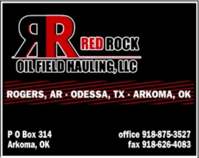Red Rock Oilfield Hauling Logo