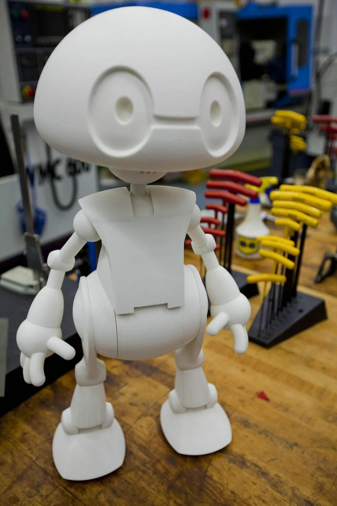 Intel Unveils Jimmy The 3 D Printable Robot