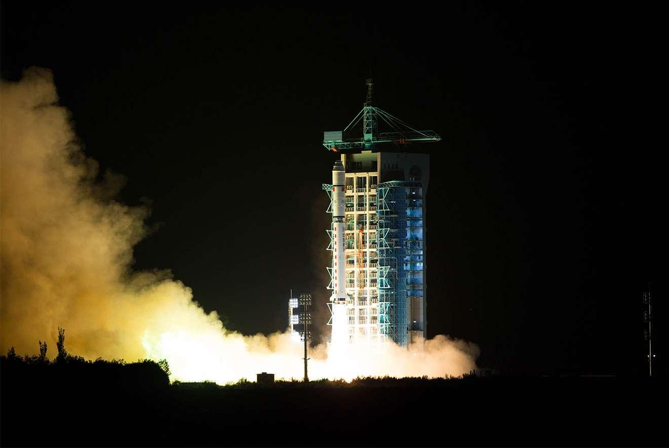 Image result for Quantum satellite launch, photos