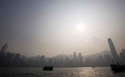 A view of Hong Kong's skyline. Photo: EPA