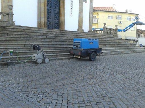 Recuperação da Escadaria Principal da Igreja 1
