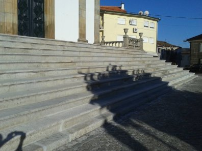 Recuperação da Escadaria Principal da Igreja 10
