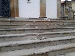 Recuperação da Escadaria Principal da Igreja 2