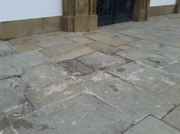 Recuperação da Escadaria Principal da Igreja 4