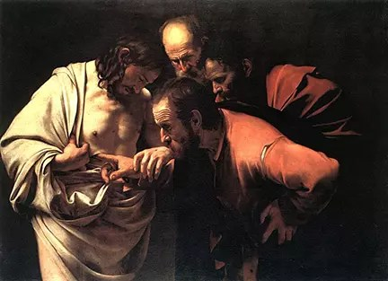 Caravaggio-Incredulity-of-St.-Thomas