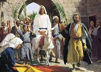 March 25, 2018 – Palm Sunday of the Lord's Passion