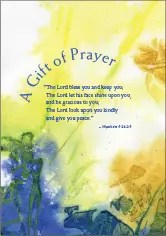Gift of Prayer Card