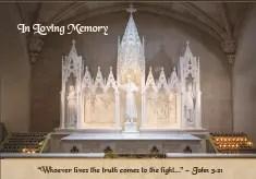 In Loving Memory Prayer Card