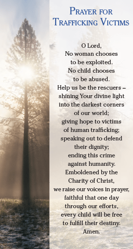 Prayer for Human Trafficking Victims