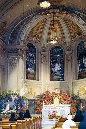 Chapel at St. Vincent Hospital, NYC