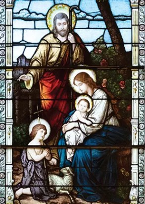 The Holy Family, Chapel of the Immaculate Conception, Mount Saint Vincent, Bronx, New York