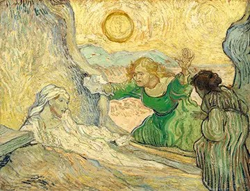 Raising of Lazarus, Vincent van Gogh