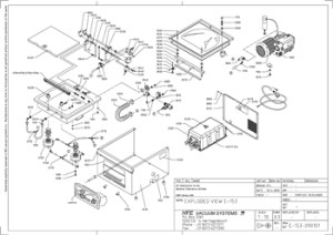 EXPLODED DIAGRAM FOR HFE 503 VACUUM PACKER | Scobies Direct