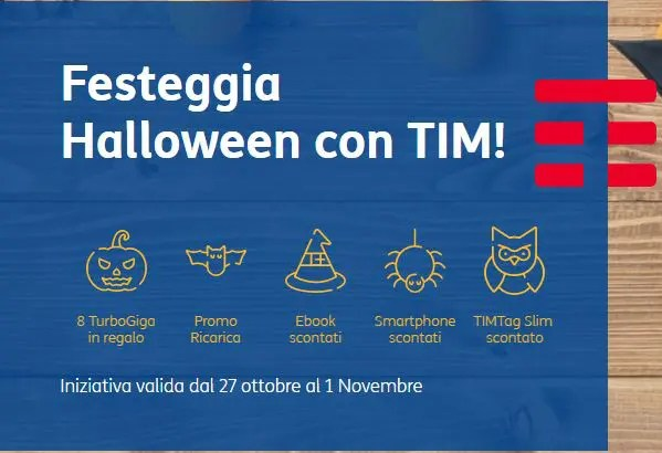 Halloween con TIM