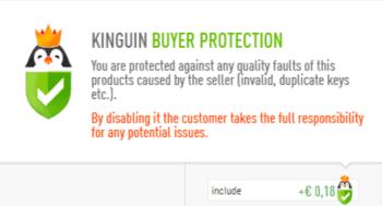 Kinguin su Trustpilot
