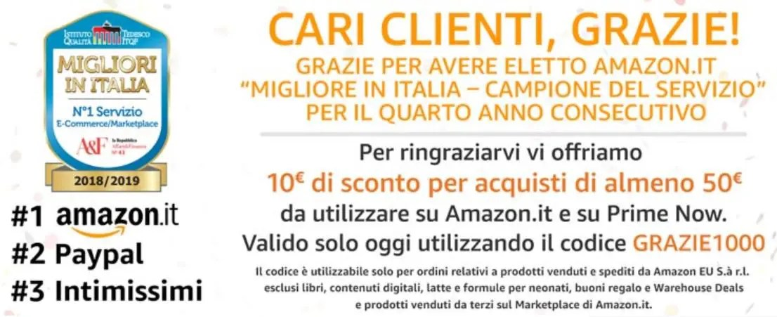 Amazon Grazie 1000