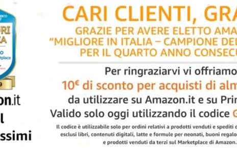 Amazon Grazie 1000