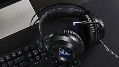 Cuffie da Gaming Aukey con Microfono Flessibile per PS4, Xbox e PC
