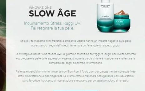 campioni omaggio Vichy Slow Âge