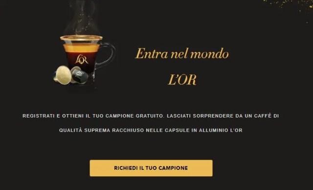 capsule caffè L'Or