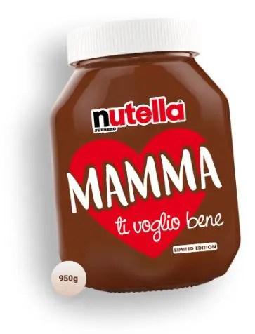 Nutella Festa della mamma