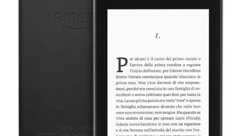 Kindle Paperwhite, Wi-Fi + 4G LTE gratuito, 32 GB