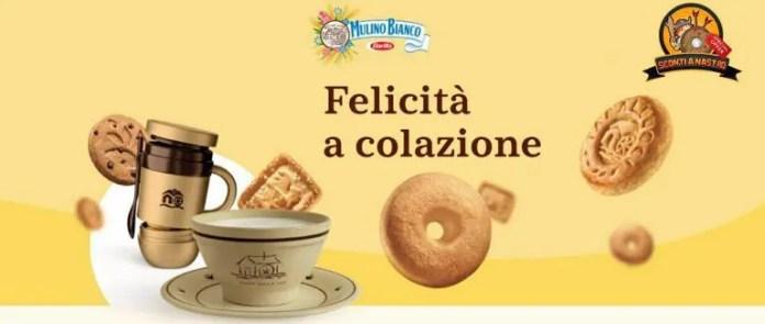 """Mulino Bianco """"Felicità a Colazione"""": in regalo il Coccio delle Origini e la Biscotazza"""