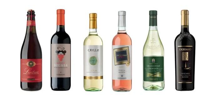 vini tipici Giordano Vini
