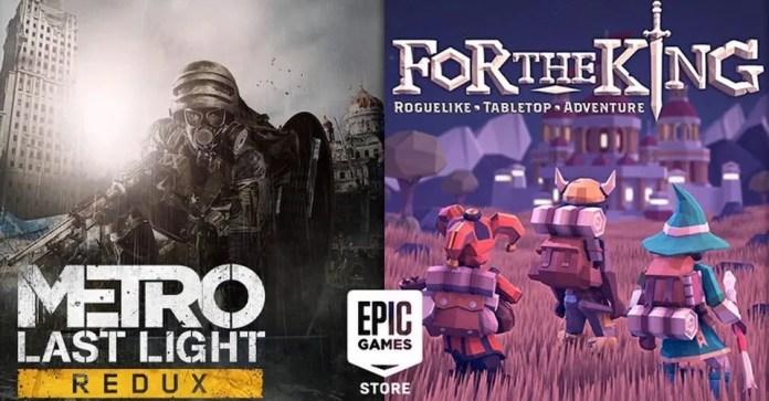 Epic Games: Metro – Last Light Redux + For The King GRATIS per PC!