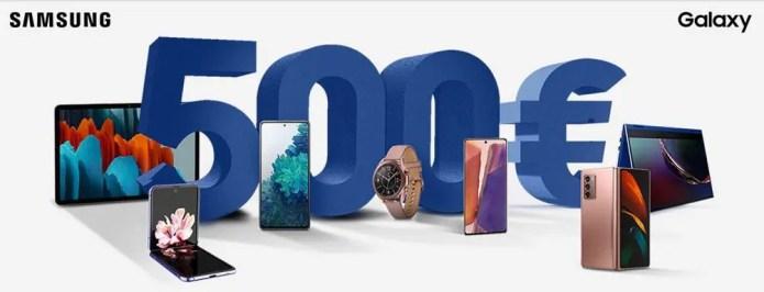 """Samsung """"risparmia col Cashback"""": fino a 500 euro di Cashback su prodotti Galaxy"""