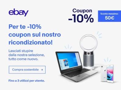PITREFURB21 coupon prodotti ricondizionati